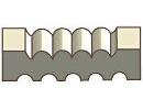 Primed MDF 11/16x3-1/4 in. casings