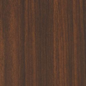 Dark brown melamine board in Gunstock Walnut