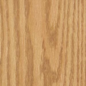 Natural oak colored melamine board