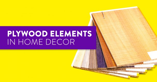 plywood elements home decor