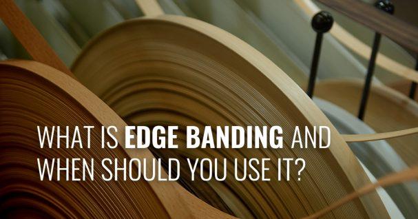 rolls of edge banding