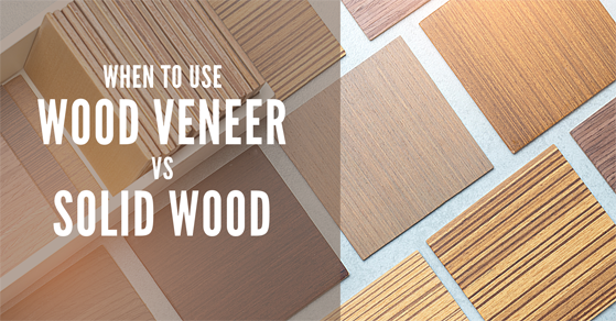 wood veneer vs solid wood