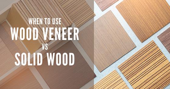 wood veneer vs solid wood