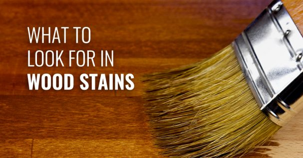 guide to wood stains